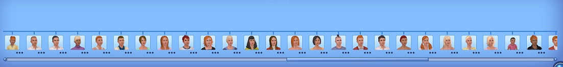 Sims 3 Saturday Rip Sim Survived By His 98 Children