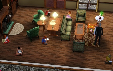Do children do homework sims 3